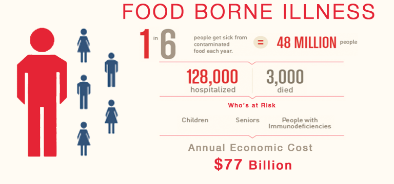 THE REAL COST OF         FOOD BORNE ILLNESS